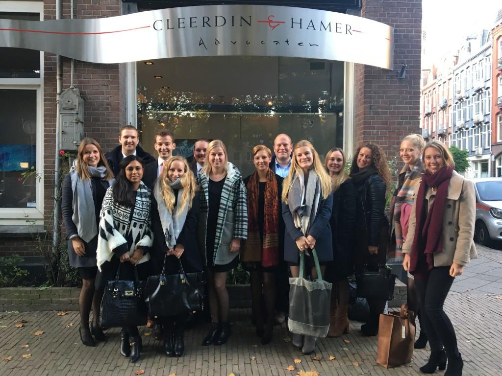 Kantoorbezoek Cleerdin & Hamer Advocaten
